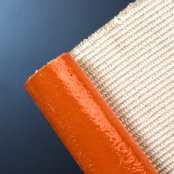 579a715d59be High Temperature   Heat Resistant Silicone Rubber Coated Fiberglass Fabric    Cloth Withstands 500°F 260°C continuous exposure  Molten Splash at ...