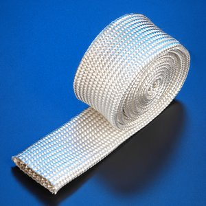High Temperature Heat Resistant Fiberglass Braided Sleeve