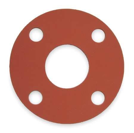 flange gasket neoprene viton epdm red-rubber ring full-face