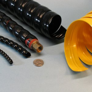 abrasion protection spiral wrap for cable wire hose protection