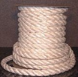 high temperature rope: heat and chemical resistant teflon coated fiberglass twisted rope